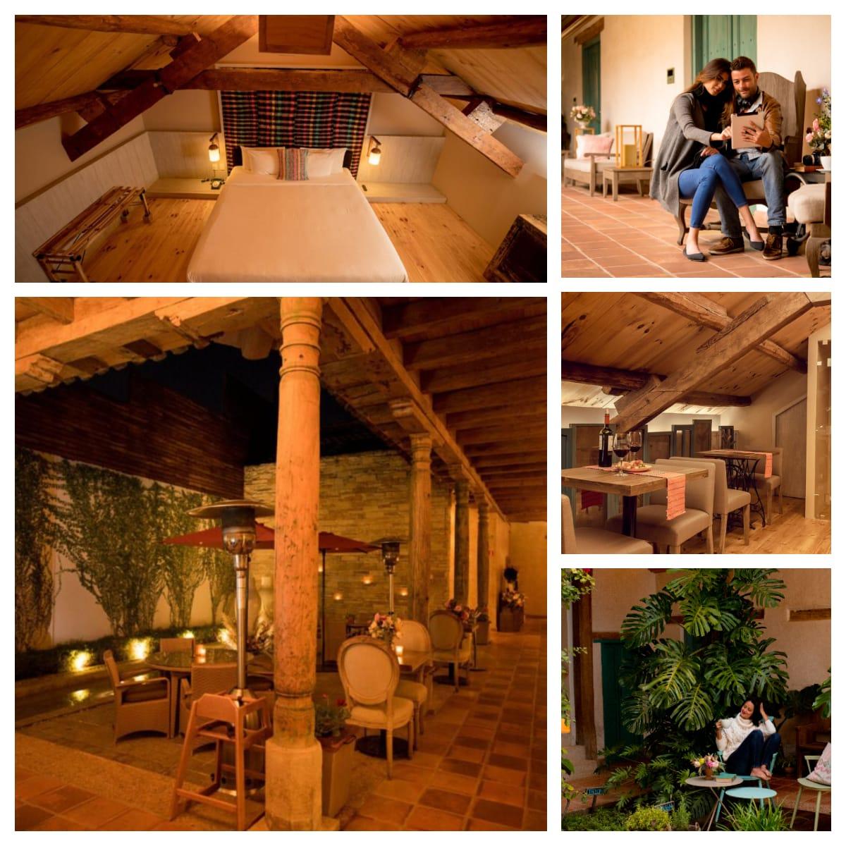 areas hotel casa lum en san cristobal de las casas