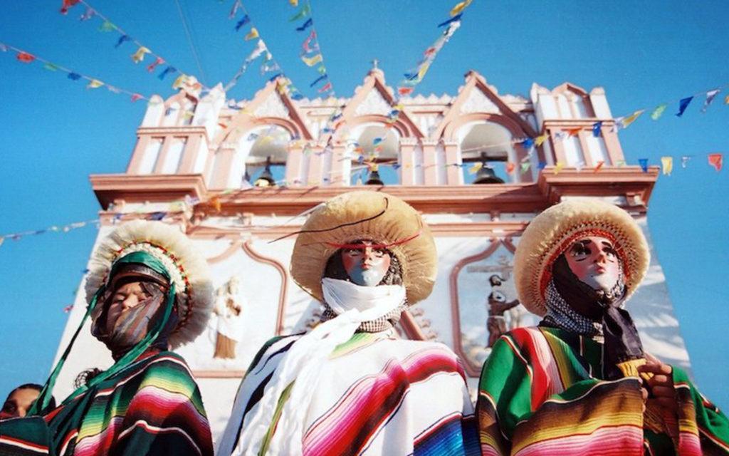 4 pueblos mágicos - Parachicos  de Chiapa de Corzo