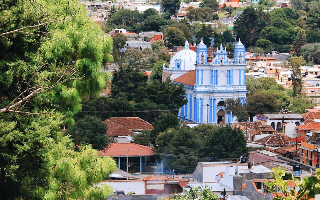 San Cristóbal de Las Casas - Vista iglesia santa lucía