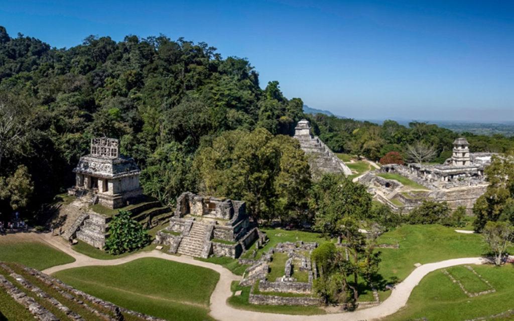 4 pueblos mágicos - Zona arqueológica de Palenque